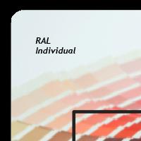Décor extérieur - Large - Verre acrylique - Couleur individuelle