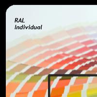 Décor extérieur - Médium - Verre acrylique - Couleur individuelle