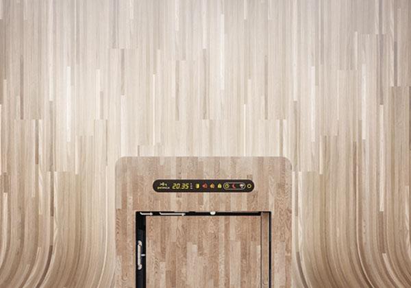 Design- La porte pour chat/chatière petWALK pour une installation dans du vitrage, un mur, une porte ou du verre isolant.