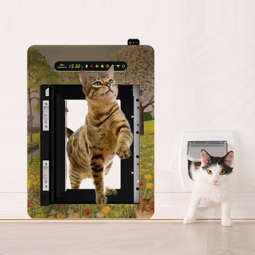 petWALK contre chatiére